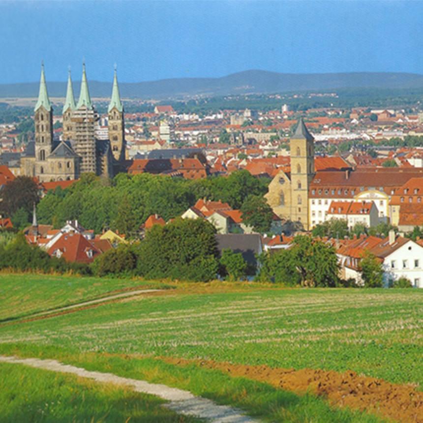 【写真】バンベルク市の景観
