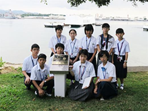 中学生海外体験ホノルル